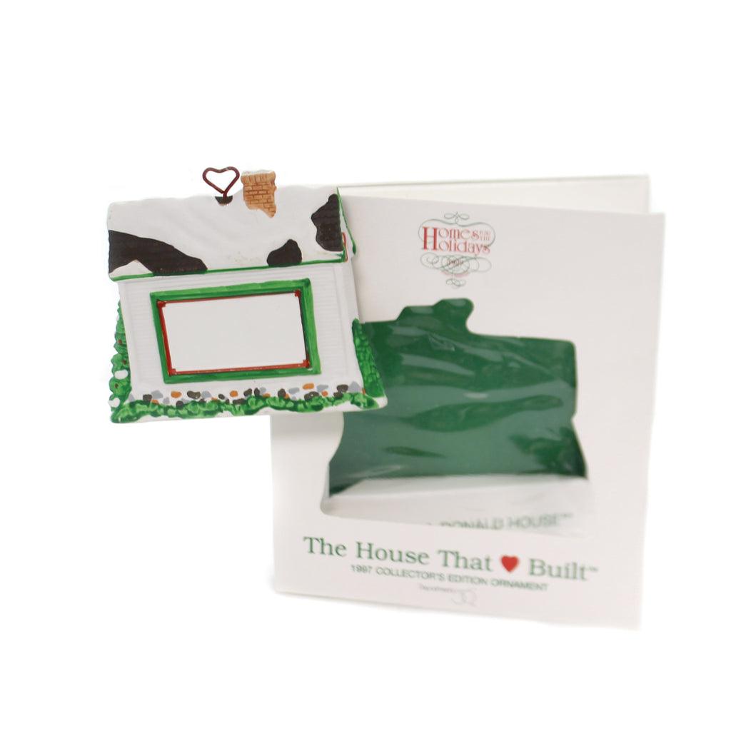 Holiday Ornaments THE HOUSE THAT LOVE BUILT Ronald Mcdonald House 8961