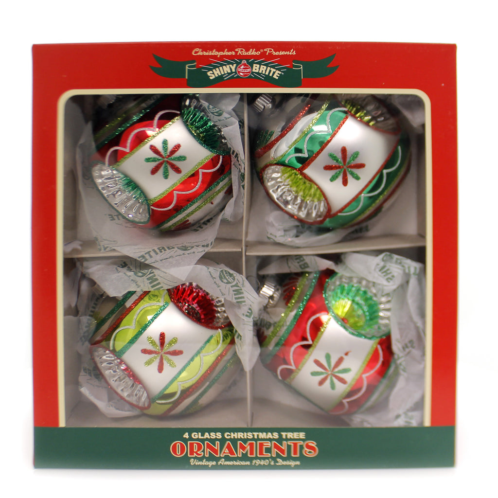 Shiny Brite HS ROUNDS WITH TRIPLE REFLECTOR Holiday Splendor Ornament 4027572