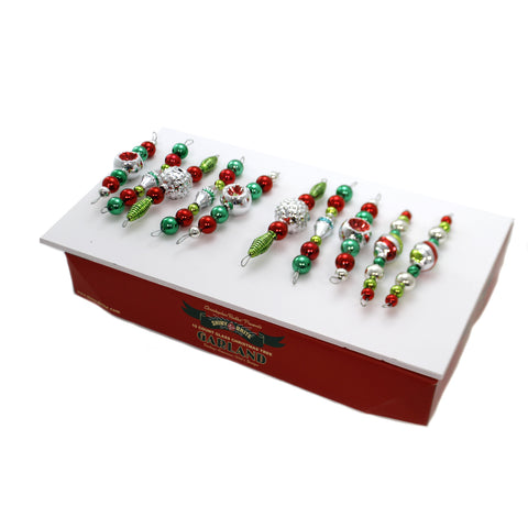 Shiny Brite HS SHAPED GARLAND Glass Garland Ornament 4027575 39293