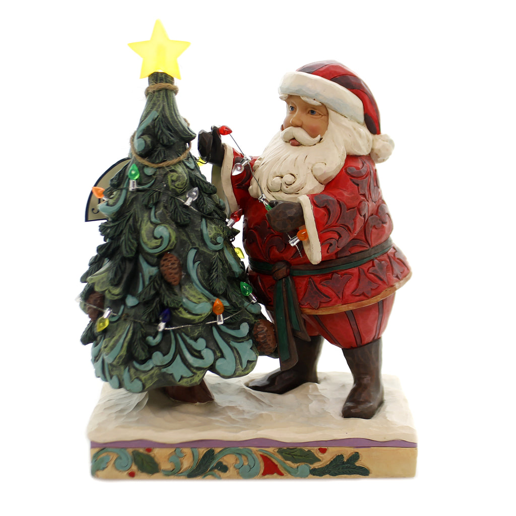 Jim Shore TREE-MENDOUS TRADITIONS Polyresin Lighted 4059756