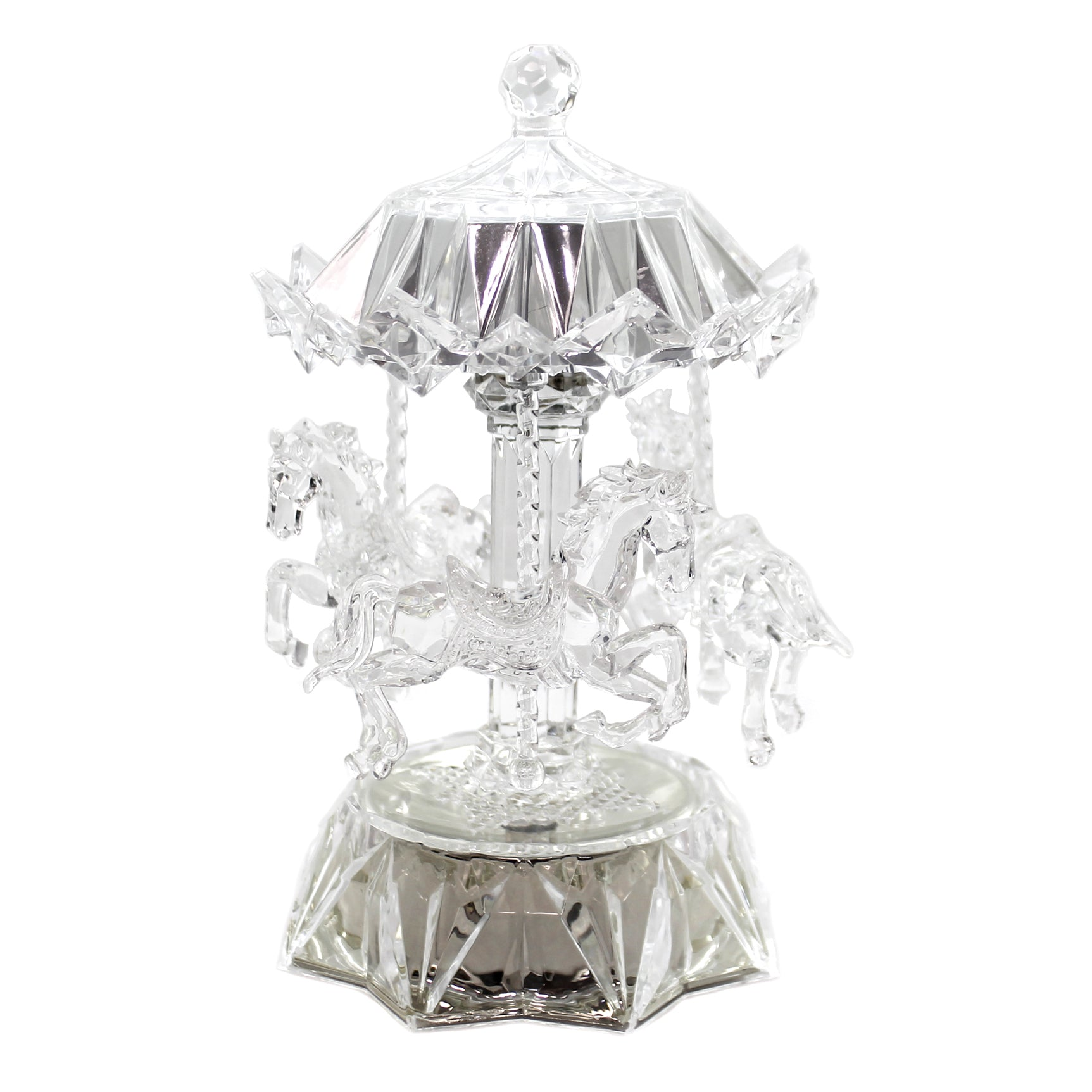 Home Decor Lighted Acrylic Carousel 53059 Sbkgifts Com Sbkgifts Com