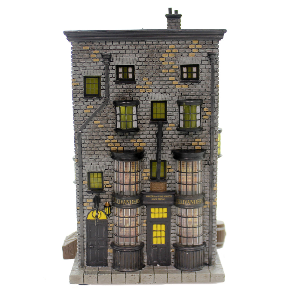Department 56 House OLLIVANDERS WAND SHOP Polyresin Harry Potter 6002313
