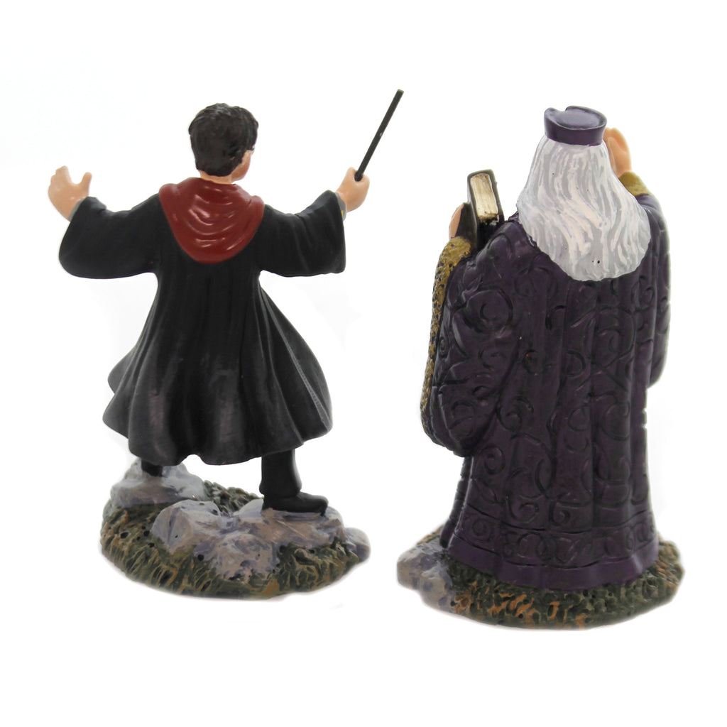 Department 56 Accessory HARRY & THE HEADMASTER Polyresin Harry Potter 6002314