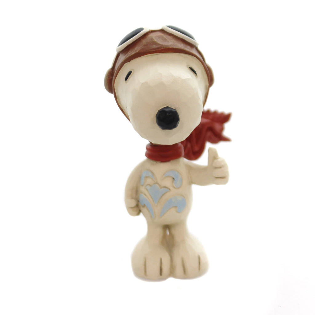 Jim Shore SNOOPY FLYING ACE Polyresin Peanuts 6001295