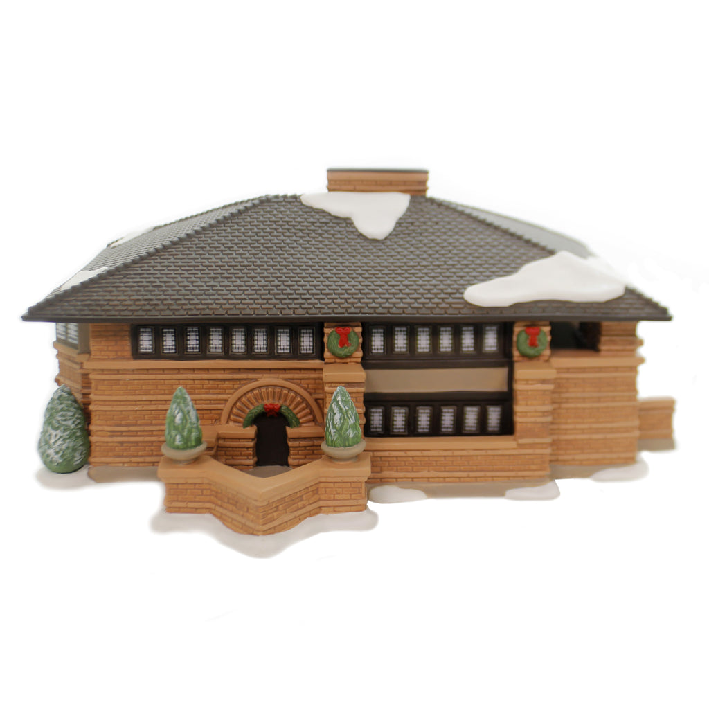 Department 56 House HEURTLEY HOUSE FLW Porcelain Frank Lloyd Wright 4054987