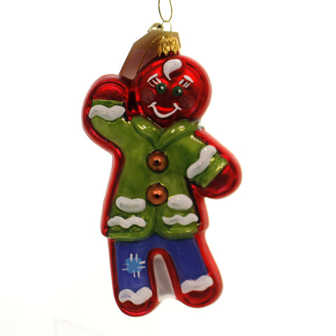 Jinglenog SNAPPY Glass Gingerbread Snappy 39592