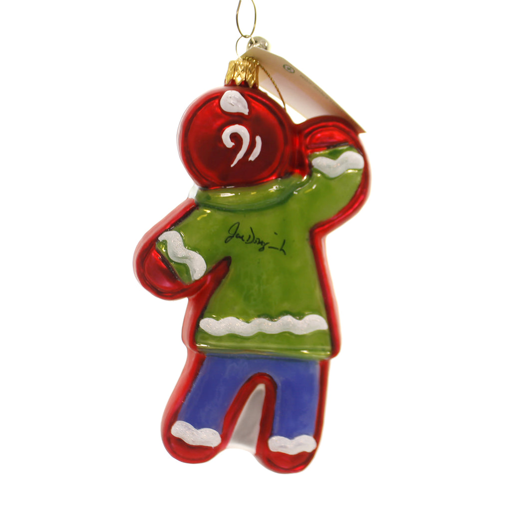 Jinglenog SNAPPY Glass Gingerbread Snappy