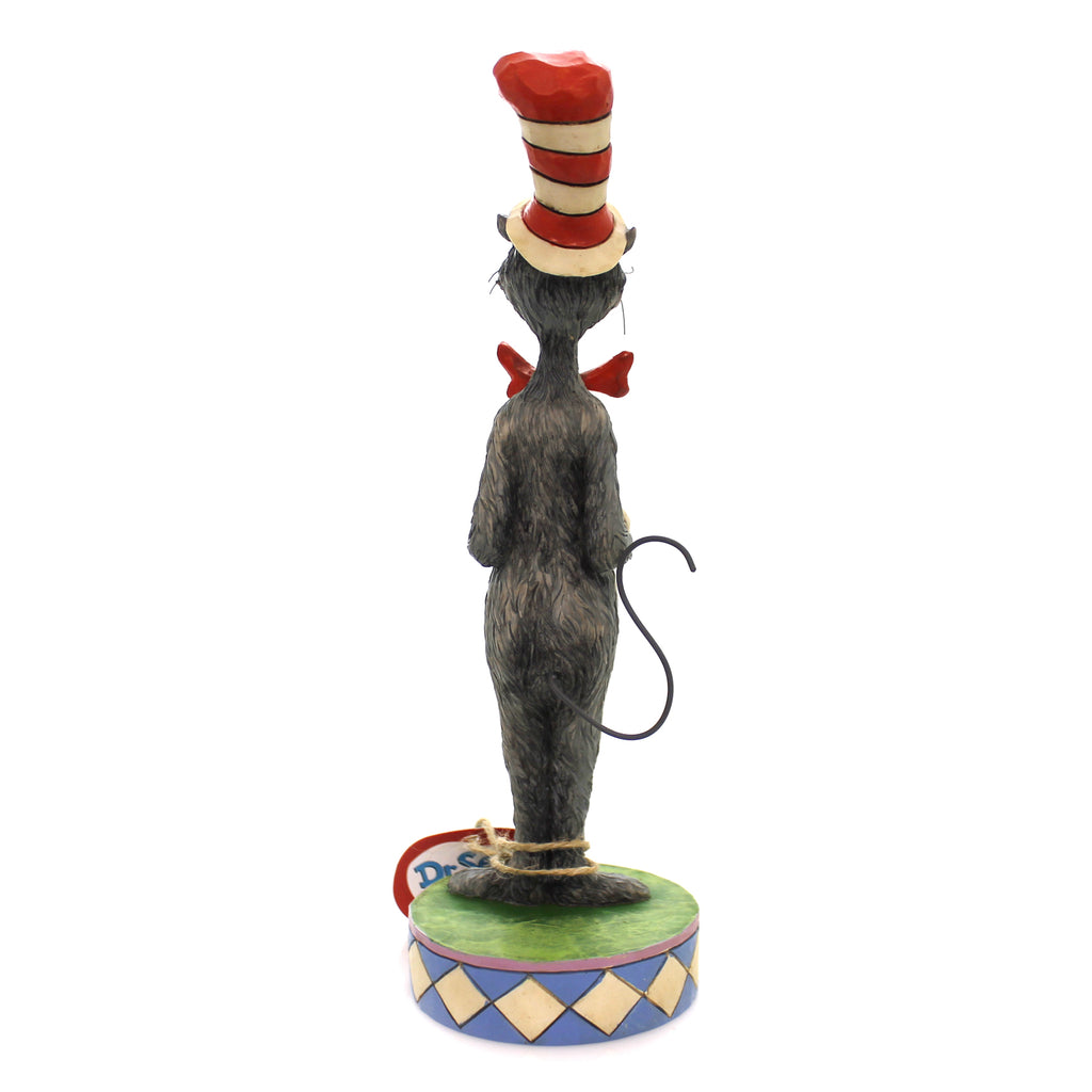 Jim Shore CAT IN THE HAT FIGURINE Polyresin Dr. Suess 6002906