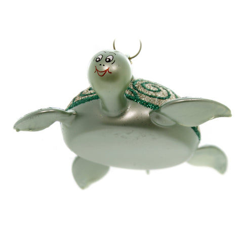 De Carlini SEA TURTLE Glass Ornament Sea Ocean Italian A5208 39703
