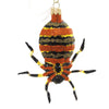 Morawski ORANGE SPIDER Glass Spooky Black 09363