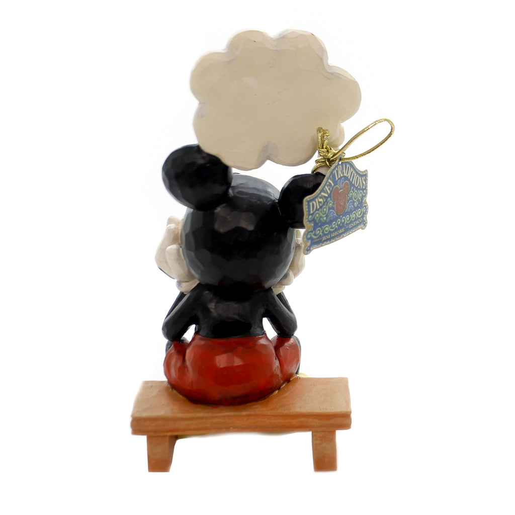Jim Shore THINKING OF YOU Polyresin Mickey Heart 6001281