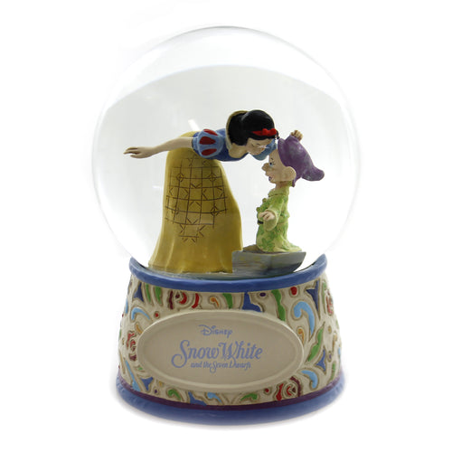 Jim Shore SWEETEST FAREWELL. Polyresin Waterball Snow White 4060098
