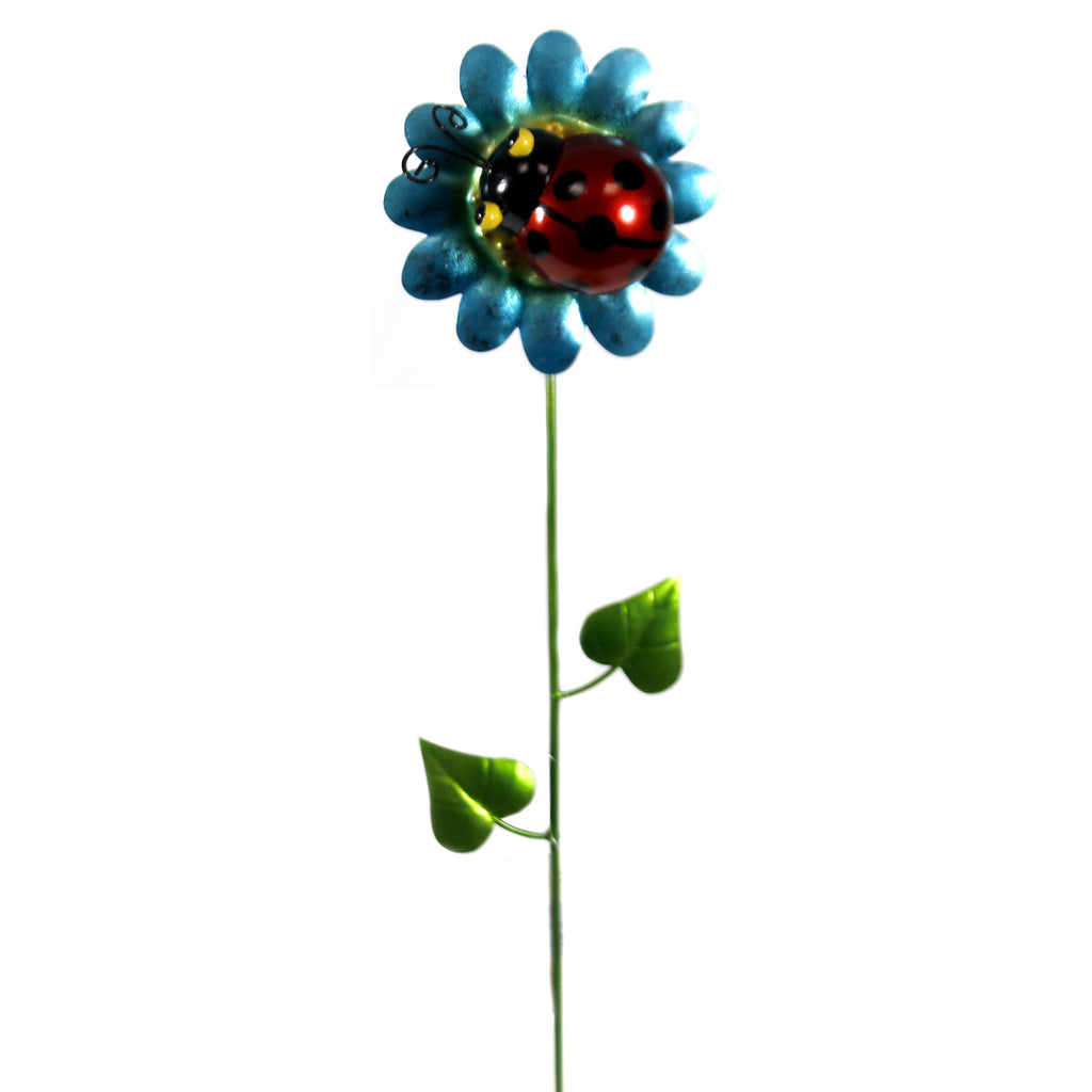 Home & Garden LADYBUG GARDEN STAKE Metal Garden Accent Decor 05509
