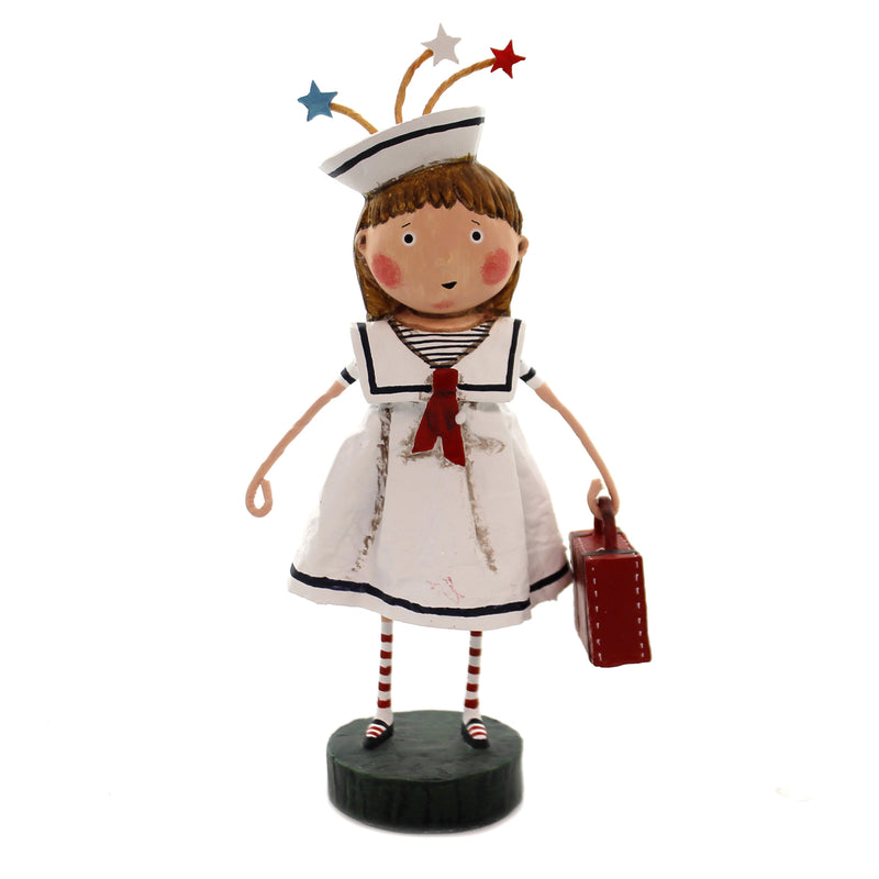 Lori Mitchell BON VOYAGE Polyresin Sailor Dress Travel Vacation 11144
