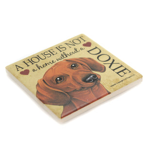 Doxie - House. 24632 Animal Pet Lover Gifts - SBKGIFTS.COM - SBK Gifts Christmas Shop Cincinnati - Story Book Kids