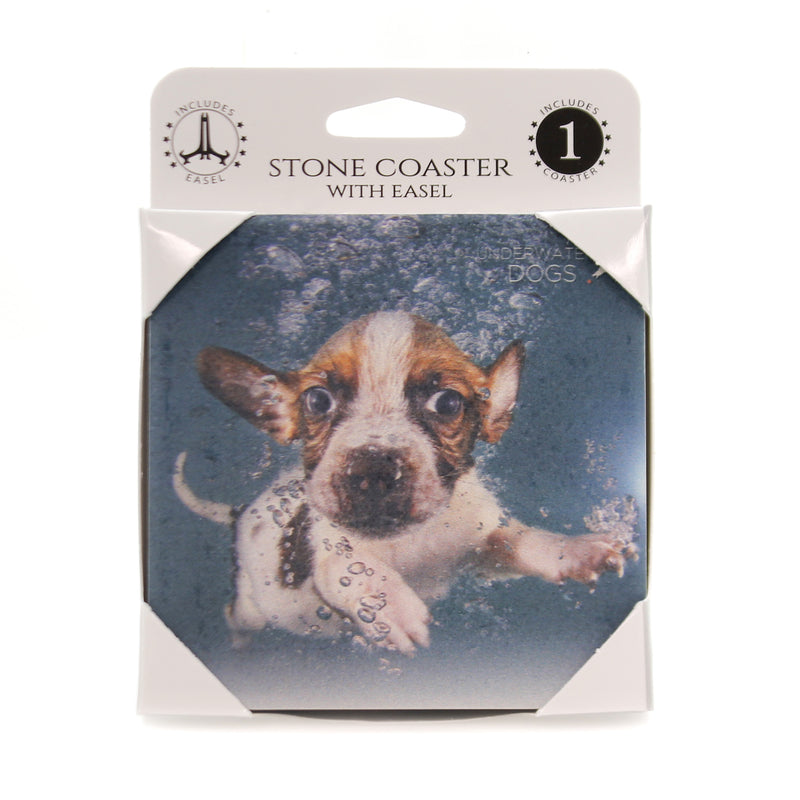 Animal BEAGLE MIX UNDERWATER Stone Stone Coater Easel 58606