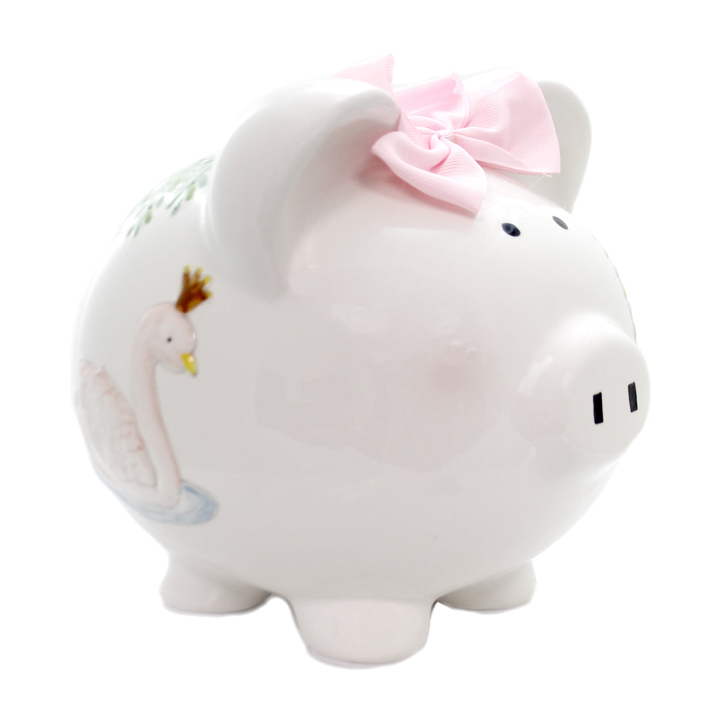 Bank SERENA THE SWAN BANK Ceramic Baby Money Save 36898