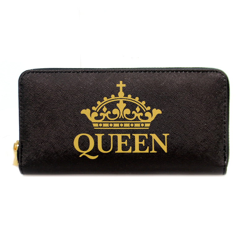Handbags QUEEN WALLET Vinyl Money Holder Wl03