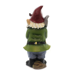 Home & Garden WELCOME GARDEN GNOME Polyresin Mushroom 12312