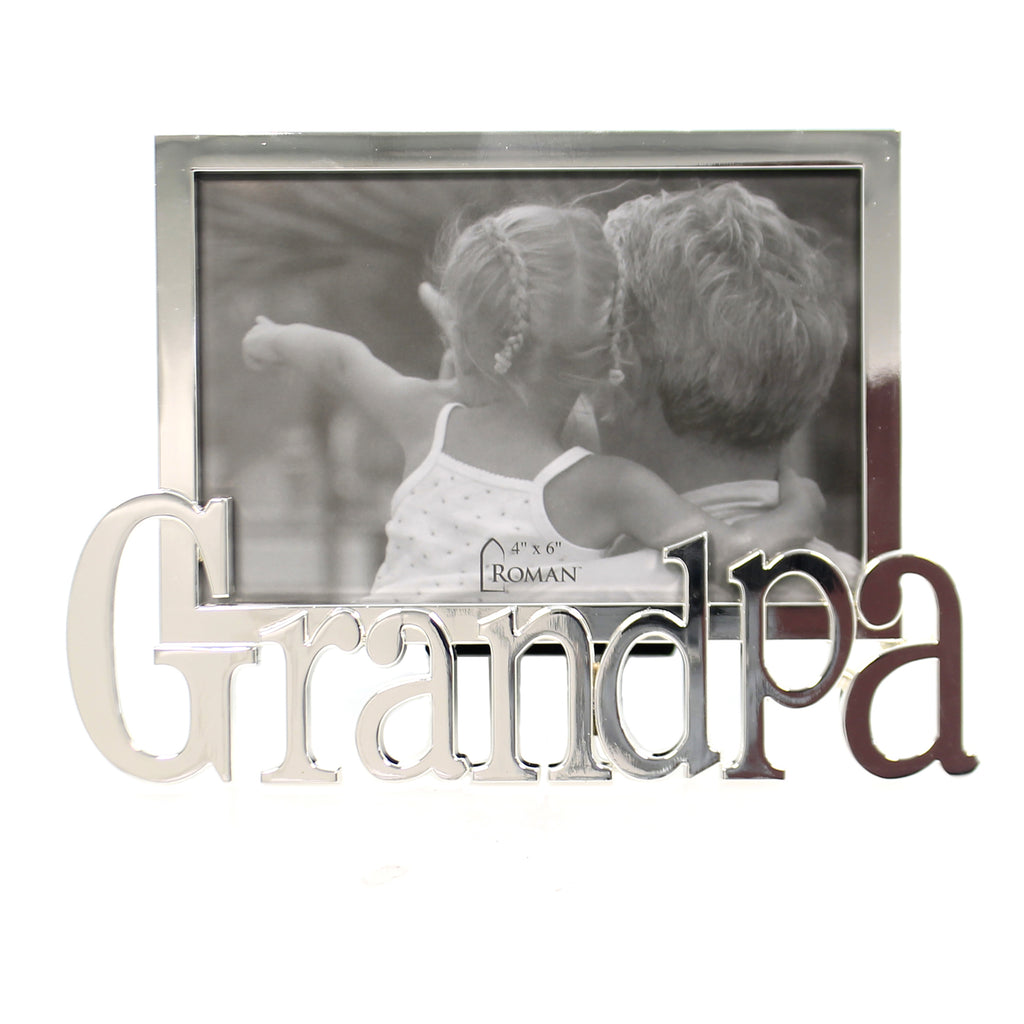 Home Decor GRANDPA FRAME Metal Father's Day 19718