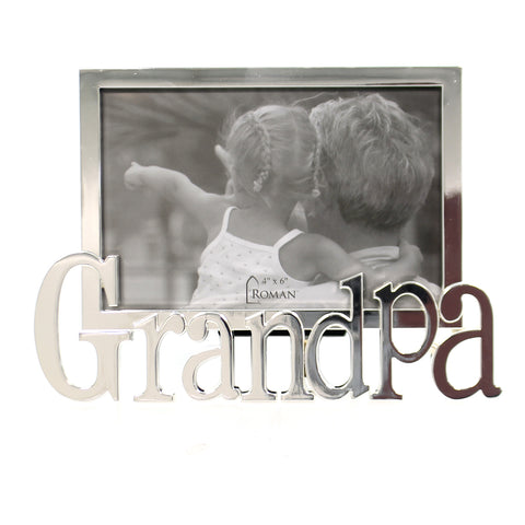 Home Decor GRANDPA FRAME Metal Father's Day 19718 40225
