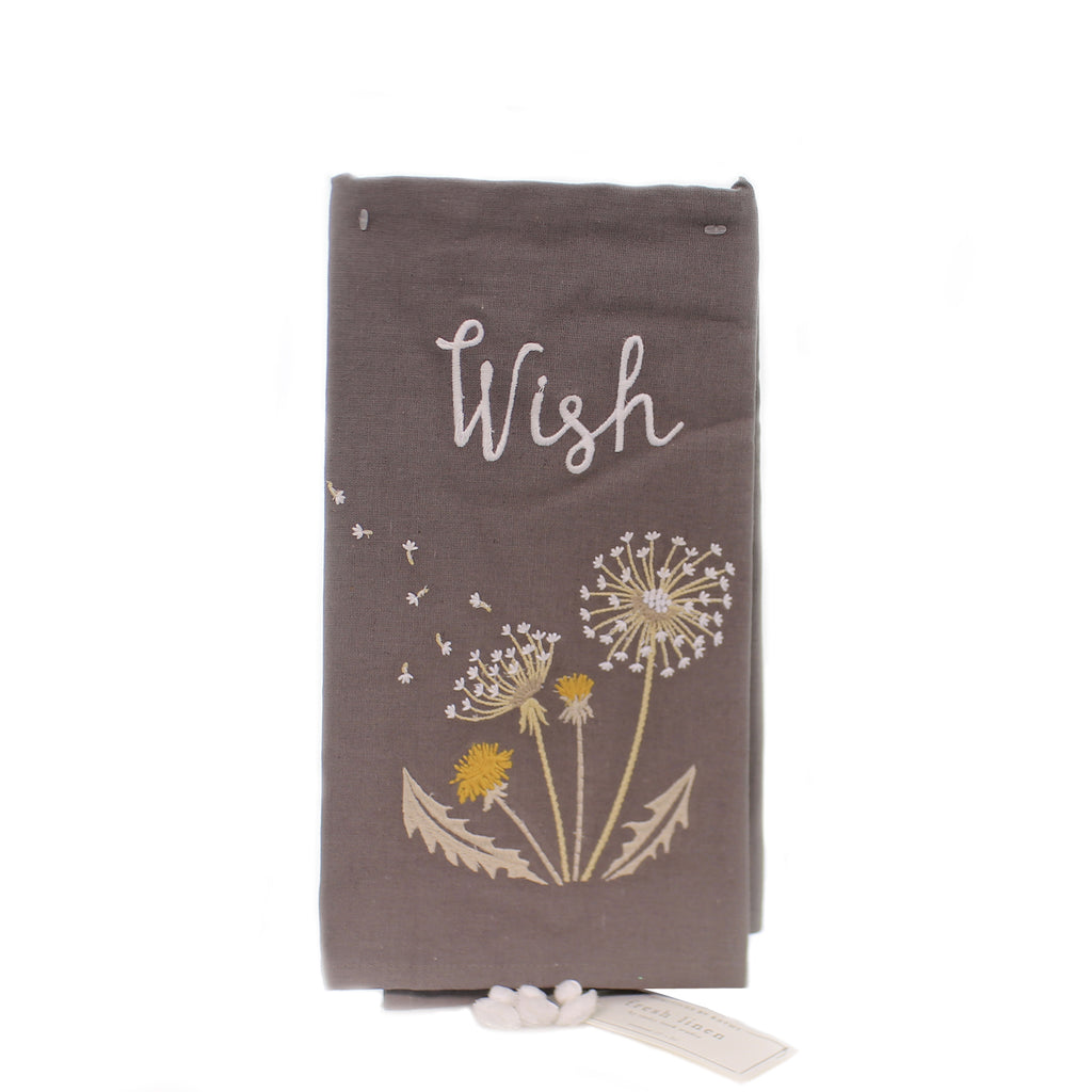 Tabletop WISH DISH TOWEL Fabric Fresh Linen 100190