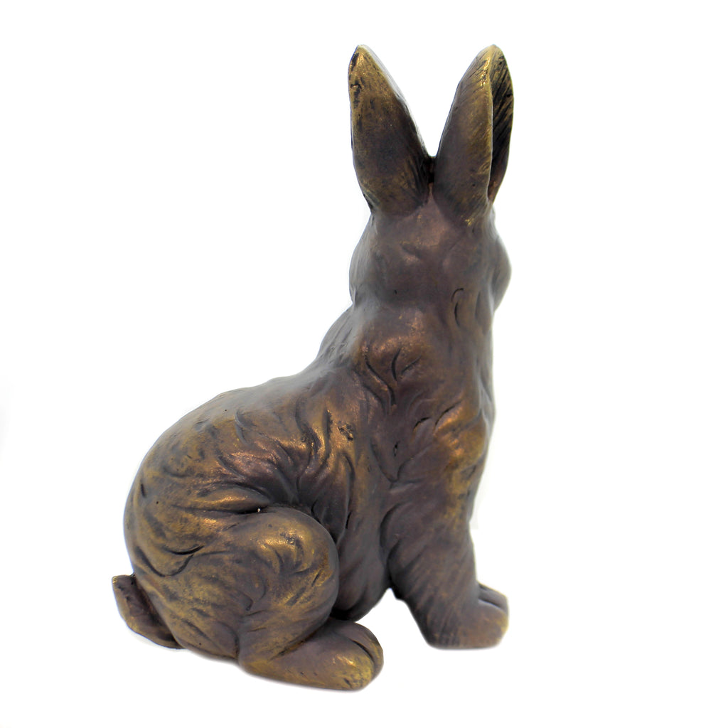 Home & Garden BUNNY STATUE SITTING Polyresin Rabbit Yard Decor 11734
