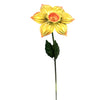 Home & Garden DAFFODIL FLOWER STAKE Metal Spring Garden Decor 11448.
