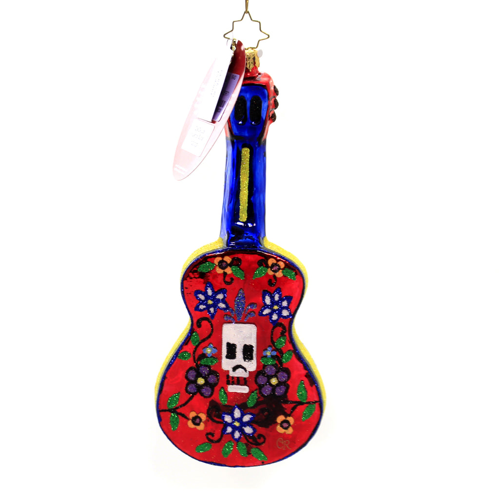 Christopher Radko DIA DE LOS MUERTOS GUITAR Ornament Day Dead Halloween 1020002