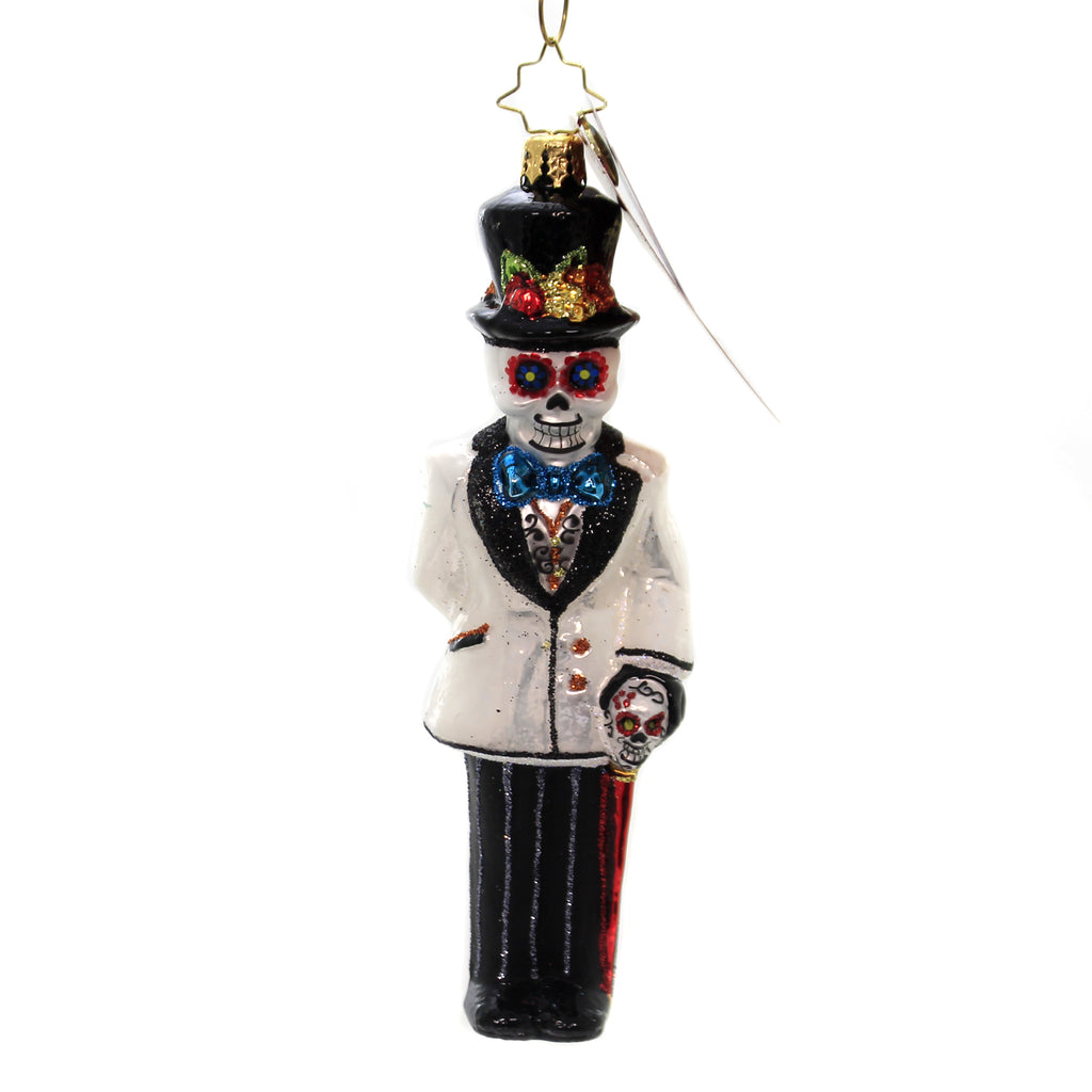 Christopher Radko DIA DE LOS MUERTOS DAPPER GROOM Ornament Wedding 1020070