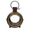 Home Decor METAL GLASS LANTERN Metal Candle Holder 74024