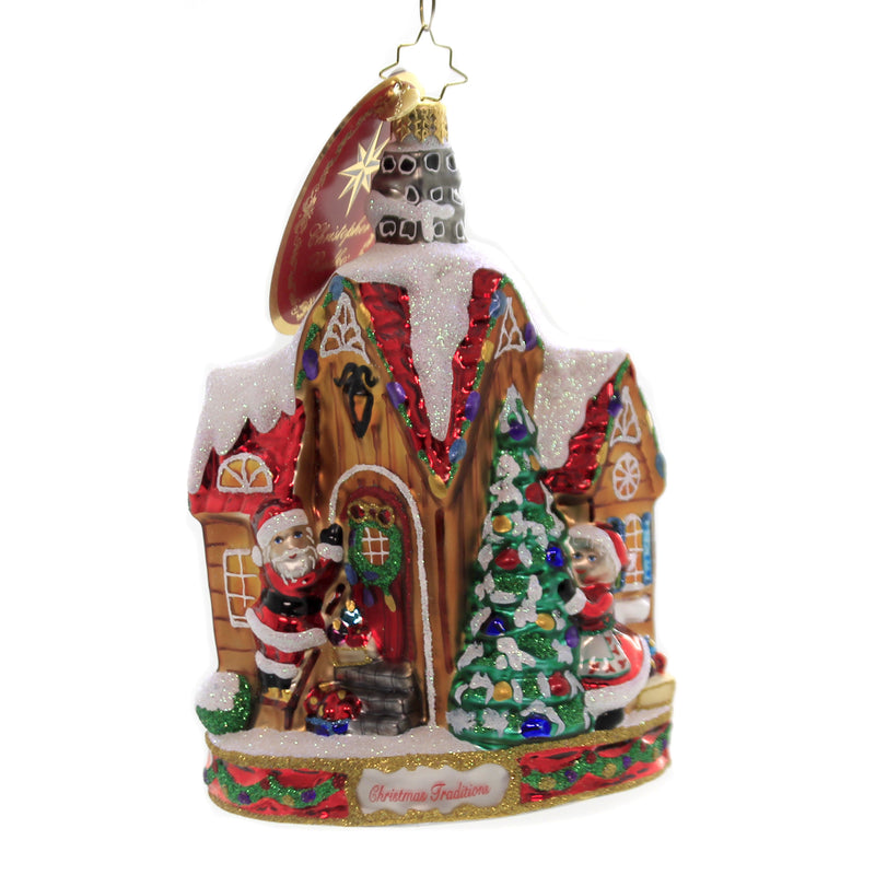Christopher Radko DECORATING FOR CHRISTMAS Glass Christmas Traditions 1020065