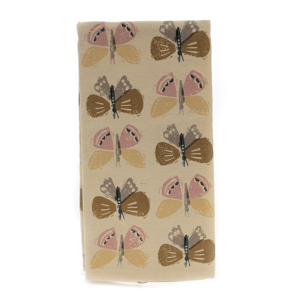 Tabletop CHOOSE HAPPY DISH TOWEL Fabric Cotton Linen Blend 102573