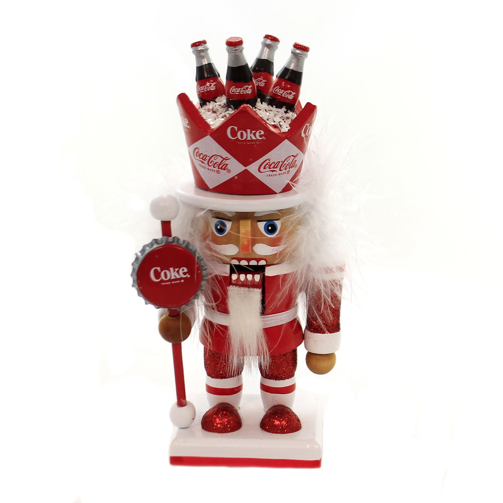 Christmas COCA-COLA NUTCRACKER Wood Trademark Cc6181