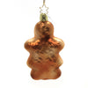 Inge Glas MRS GINGERBREAD Glass Heart Christmas Visions 10205S019