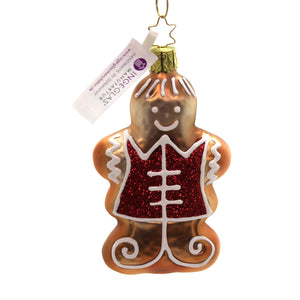 Inge Glas MR. GINGERBREAD Glass Christmas Visions 10204S019