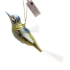 Inge Glas OLDE FLYER Glass Bird Nylon Wings Ornament 10142S018