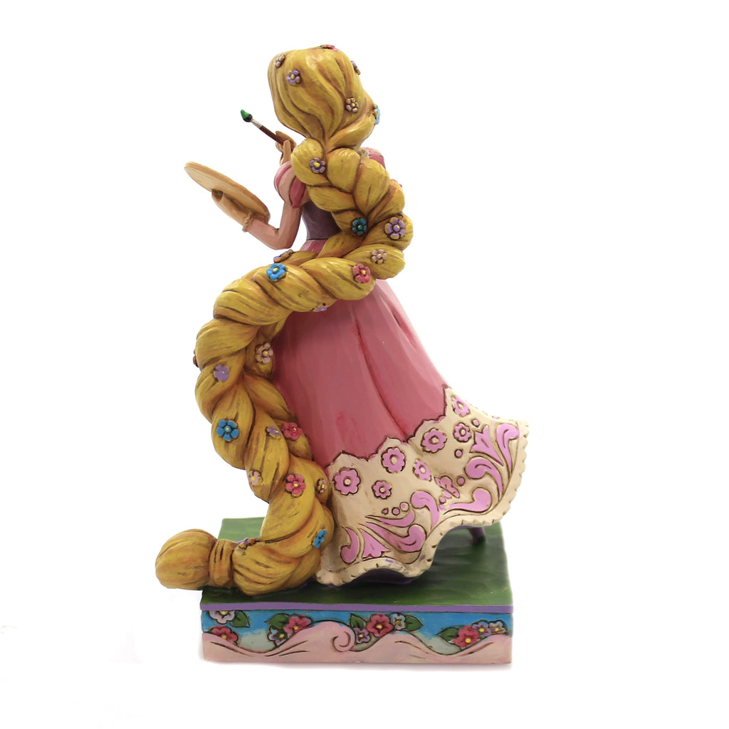 Jim Shore ADVENTUROUS ARTIST Polyresin Disney Princess Rupunzel 6002820