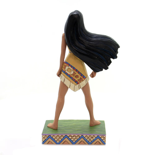 Jim Shore PROUD PROTECTOR Polyresin Disney Princess Pocahontas 6002822