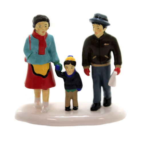 Department 56 Accessory DAD'S TURN TO COOK Ceramic Snow Village 6003146