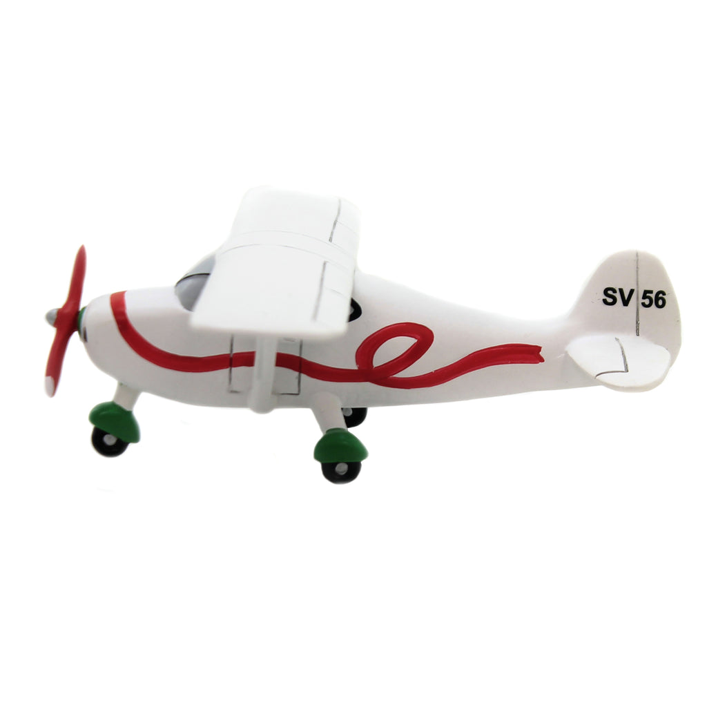 Department 56 Accessory SANTA'S PLANE Polyresin Fly Snow Village 6003151