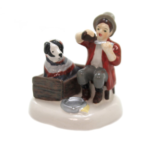 Department 56 Accessory NORMAN ROCKWELL'S BEDSIDE MANNER Snow Village 6003144