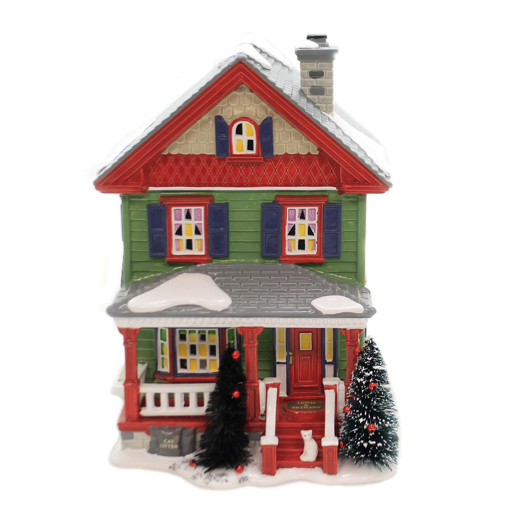 Department 56 House AUNT BETHANY'S HOUSE Snow Village Chjristmas Vaca 6003132
