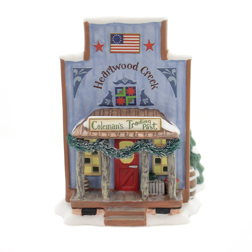 Department 56 House COLEMAN'S TRADING POST New England Jim Shore 6003100