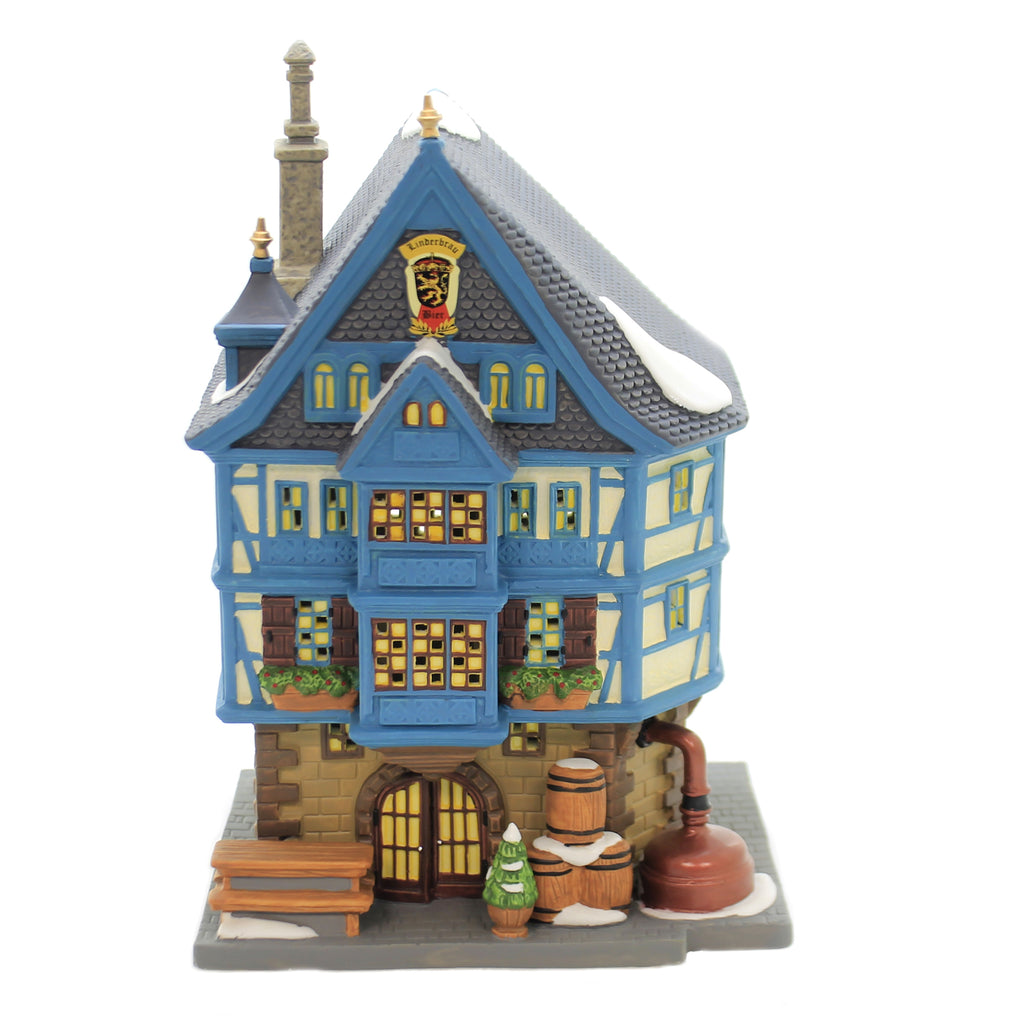 Department 56 House LINDERBRAU BEER HALL Alpine Village Series 6003048