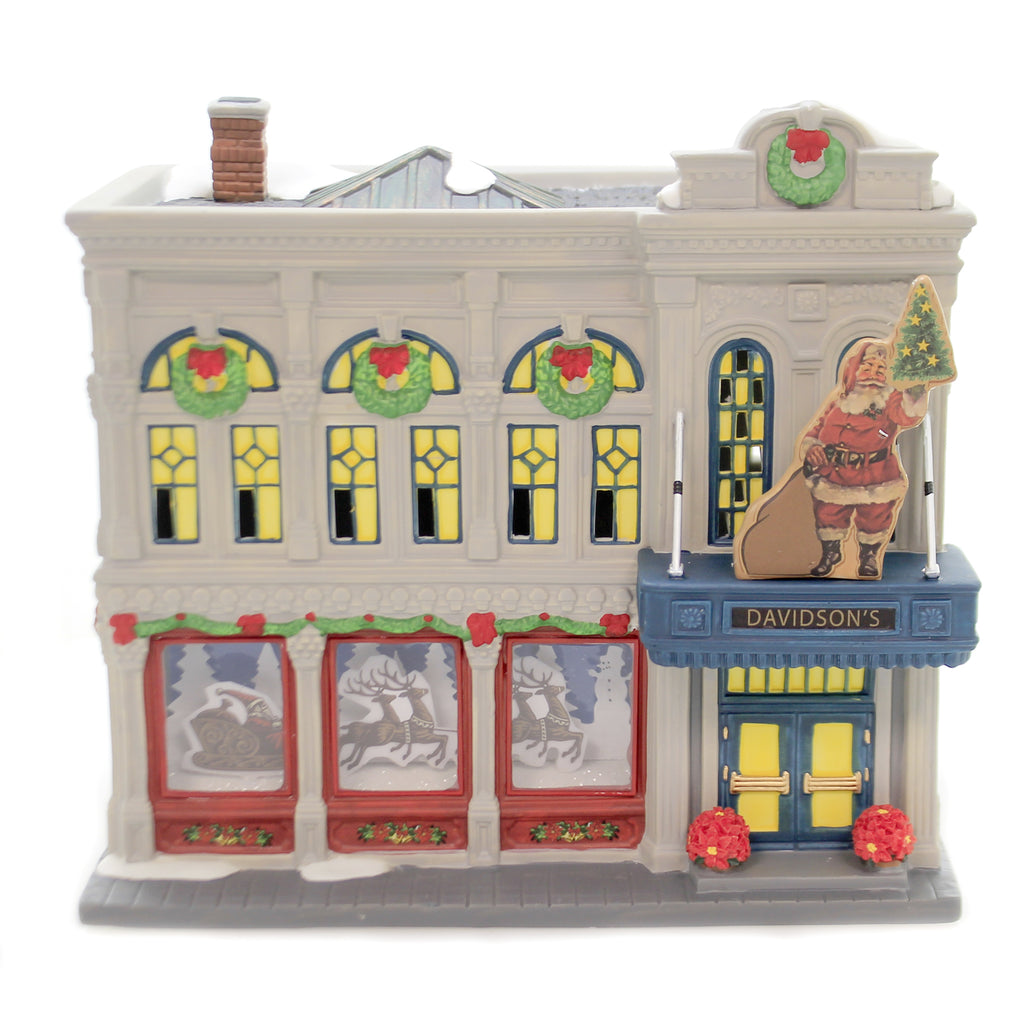 Department 56 House DAVIDSON'S DEPARTMENT STORE Christmas In The City 6003057