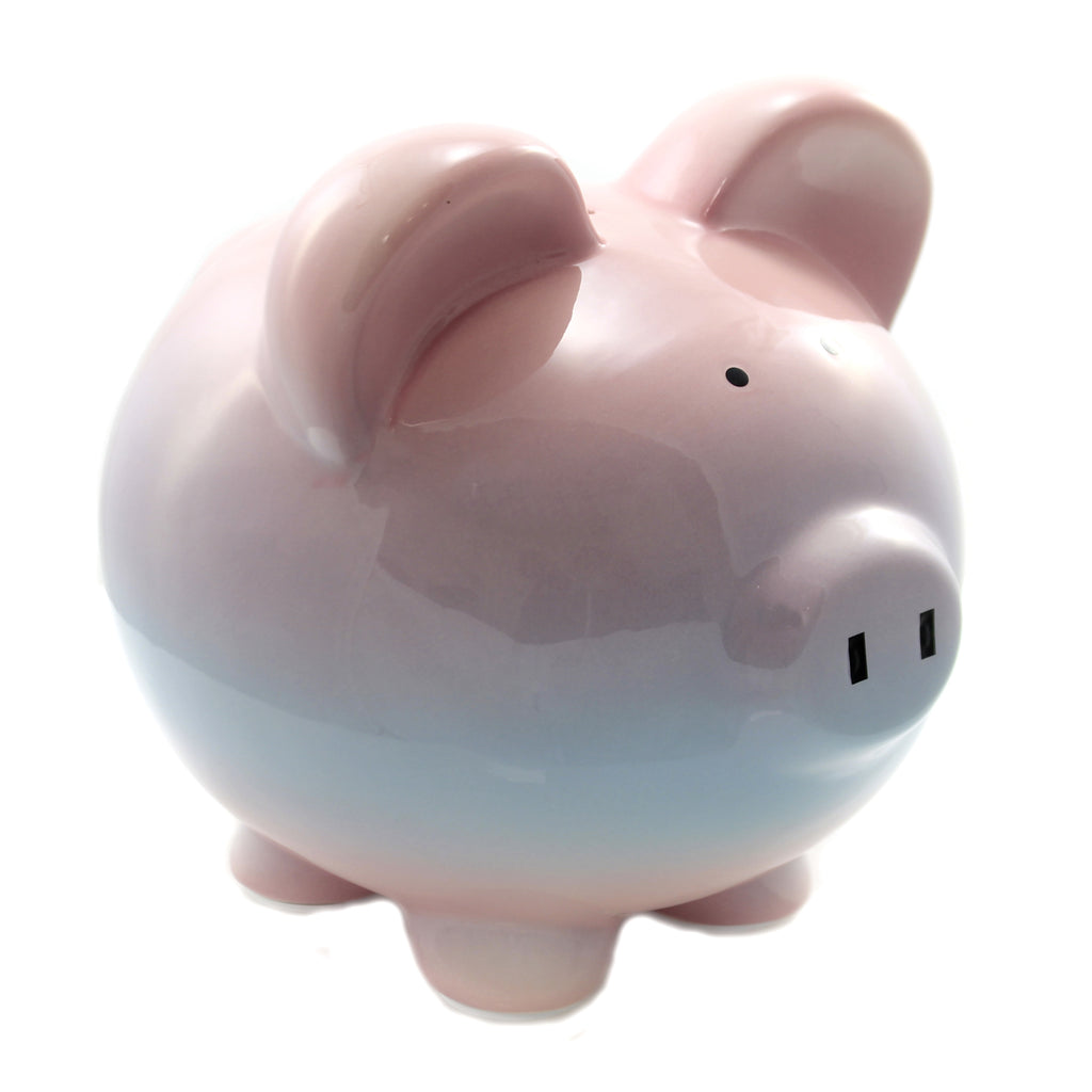Bank RASPBERRY OMBRE BANK Ceramic Piggy Bank Save Money 3707Rs