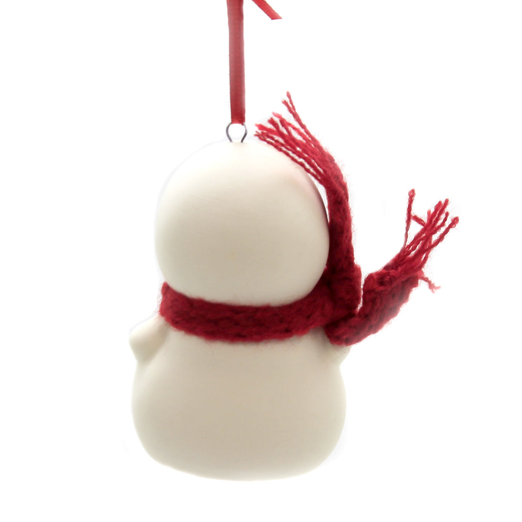 Holiday Ornaments CHRISTMAS MAKES ME SMILE Porcelain Snowpinions 6003269