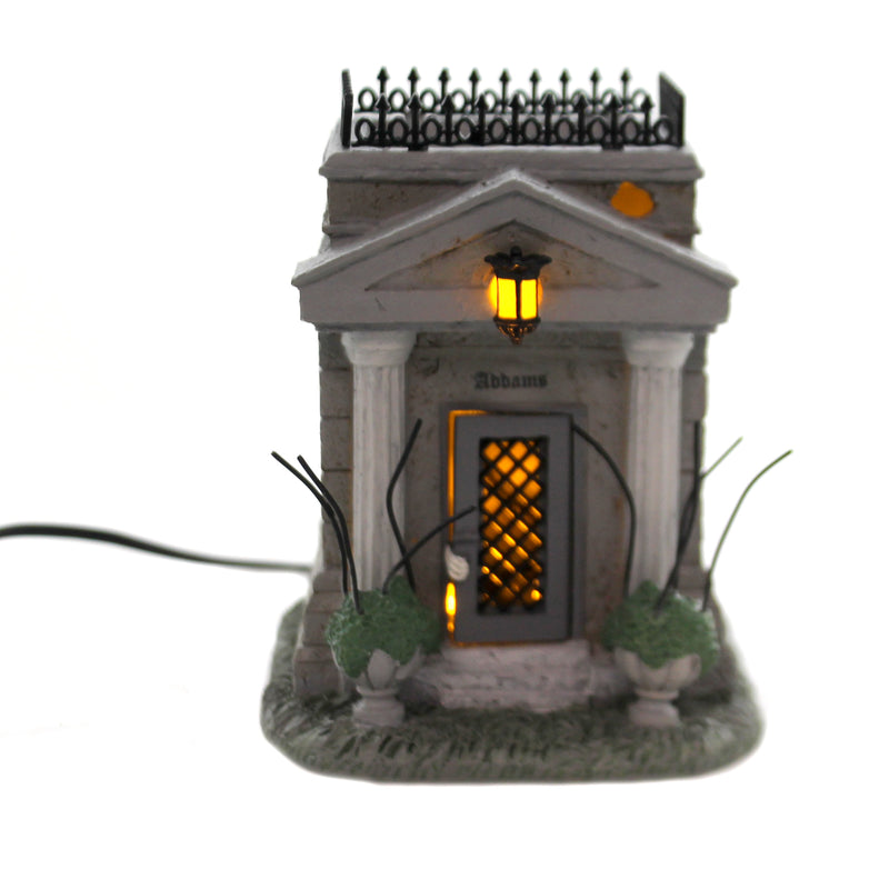 Department 56 Accessory THE ADDAMS FAMILY CRYPT Polyresin Indoor Use 6004270