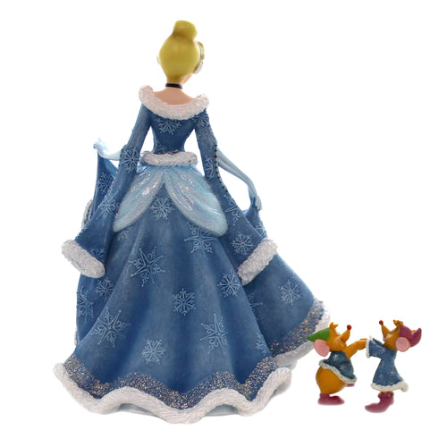 Disney CINDERELLA W/ JAQ AND GUS GUS Polyresin Disney Mice 6002181